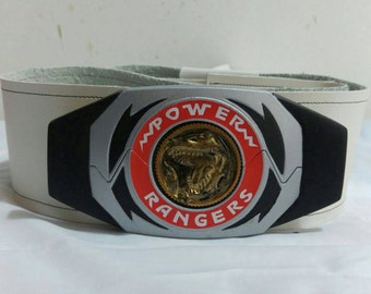 Power Rangers belt and buckle morpher