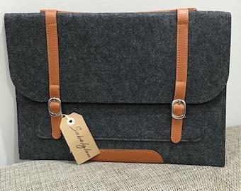 Woollen felt laptop Cover Case sleeve Bag