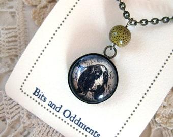 Basset Hound pendant necklace