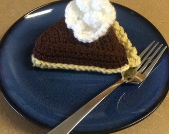 Crochet Chocolate pie