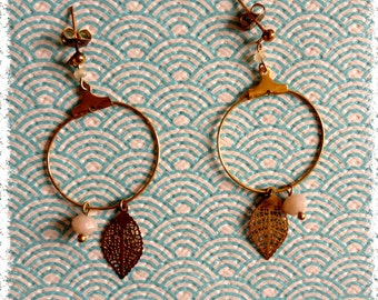 "Golden hoops ""a fall afternoon"""