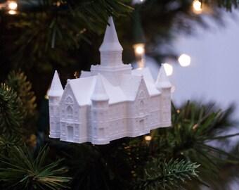 Provo City Center, UT LDS Temple Christmas Ornament