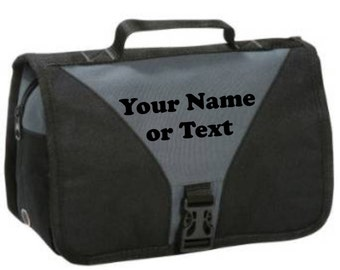 shugon bristol travel wash/shower toiletry bag personalised with your name or text