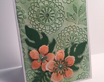 Stampin Up handmade Thinking of You card