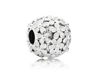 Authentic Pandora DARLING DAISY MEADOW Clip Charm Bead