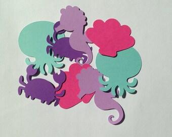 Mermaid Confetti - Mermaid Birthday - Mermaid Party - Mermaid First Birthday - Girl Birthday - Under the Sea - First Birthday