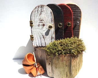 Fairy Doors,Wood Fairy Door,Fairy House ideas,Boho Fairy Door Kit,Magical Fairies,Gnome Door,Miniature Door,For Fairies,Fairy Accessories