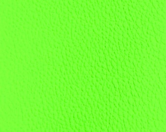 Fabric imitation leather neon green 70 cm width