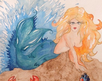 Herbal Medicine Mermaid