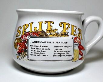Vintage Split Pea Soup Mug