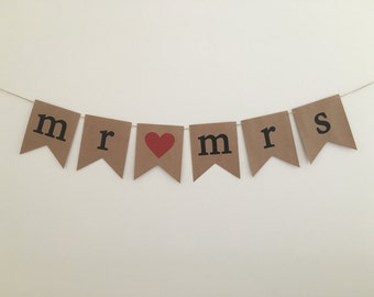 Mr & Mrs Bunting Flag