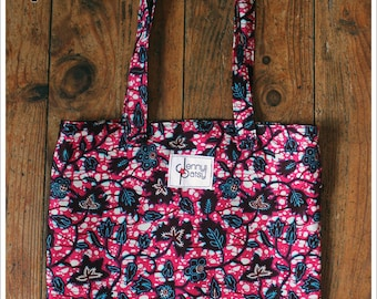 Tote Bag in pink Wax