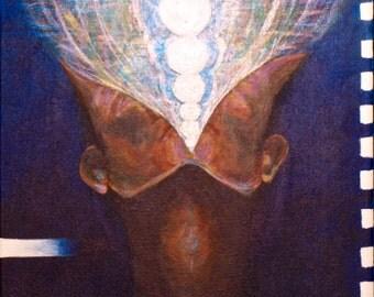 Original Abstract painting, wall art, Acrylic painting