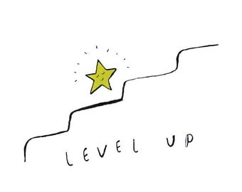 Level up (pack of 4)