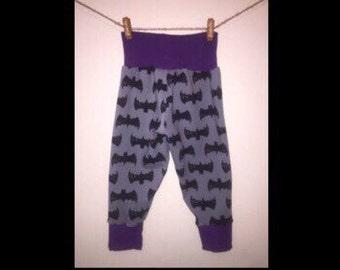 Harem Style Pants 6 Mo- 5T