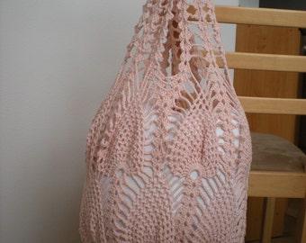 Crochet bag pattern, By Emmhouse, Pineapple bag crochet pattern, Market bag, pdf download crochet bag pattern, Easy crochet bag patterns