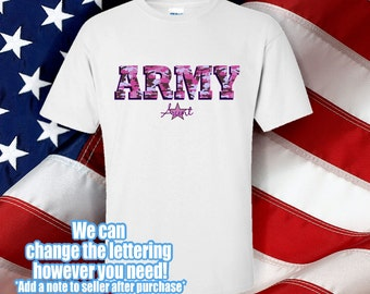 Army Aunt - Military tshirt