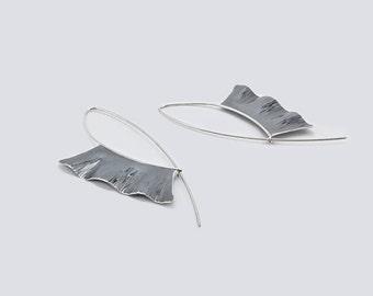 """Sailfish"" 925 Silver earrings"
