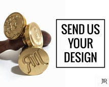 MR Custom Wax Seal Stamp - Design Your Own Wax Seal Stamp