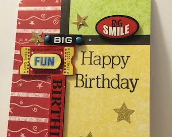 Smile Happy Birthday card