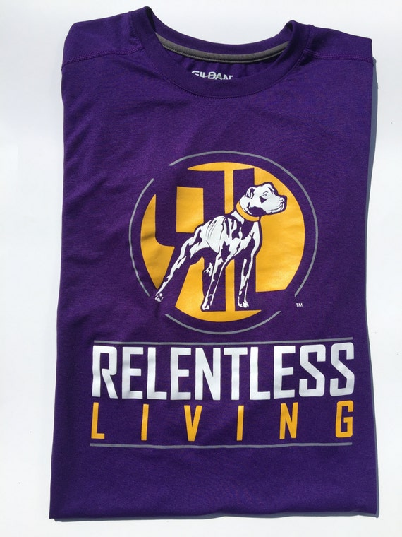 Relentless living dry fit performance t shirt by for Dry fit custom t shirts