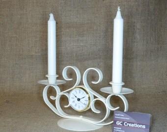 2 stick Candelabra\Clock