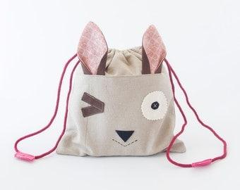 MINI LUNCH BAG Rabbit Rosa