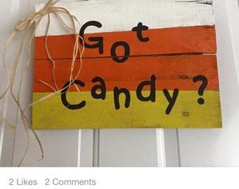 Got candy halloween