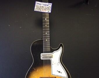 Guitar: Harmony Stratotone Atomic