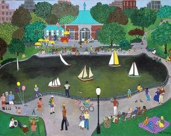 New York Art - Central Park Art - New York Gift - NYC Art Print - Pat Singer's New York