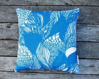 Hand Screen Printed Cushion 'Impression'