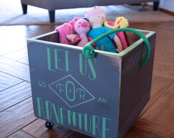 Pyper Pull Crate - Let Us Go For an Adventure