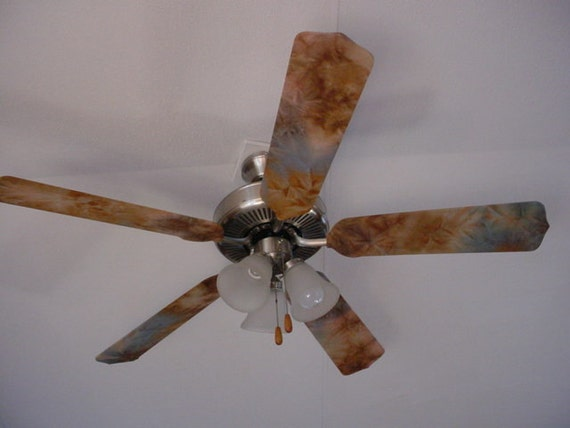 ceiling fan blade covers by randomactsshop on etsy. Black Bedroom Furniture Sets. Home Design Ideas