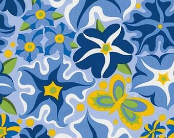 "Jane Sassaman    Free Spirit    ""Wild Child""    Petunia   Blue"