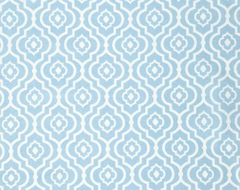 "Dena Designs FreeSpirit  ""Sundara Oasis""  Meena Cotton Fabric in Aqua"