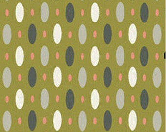 Amy Butler Forest Collection  Dew in Kiwi Organic Cotton Fabric