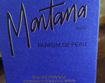 Rare vintage Montana parfum de Peau EDP 50 ml - 1.7 OZ.FL new with box 1986