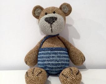 Amigurumi Teddy Bear MADE TO ORDER