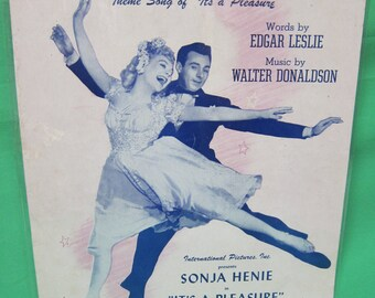 """Romance - Theme Song from """"It's a Pleasure"""" === Sheet Music"""