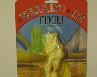 Wizard of Oz Cowardly Lion Magnet