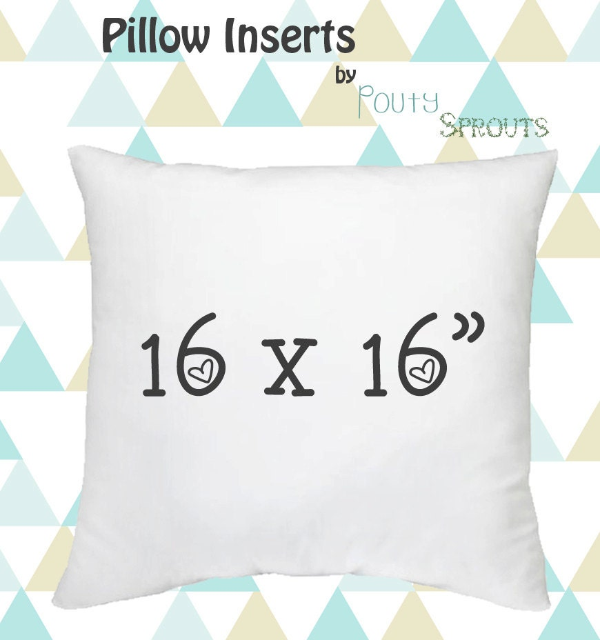 Faux Down Pillow Inserts Soft Throw Pillows Pillow Cushions
