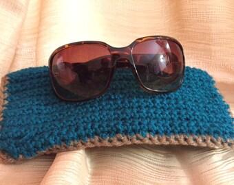 Handmade Crochet Sunglass Cases