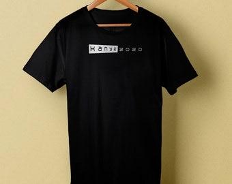 Kanye For President 2020 Black T-Shirt, Men's T-Shirt, Tee Size S M L XL XXL