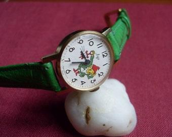 "New vintage watch. Soviet watch, Women's watch, children's wrist watch – mechanical watch her–gift for her USSR 80s, ""luch (Ray)"" 15 jewels"