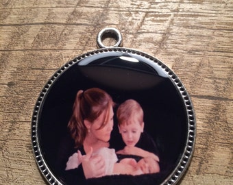 Custom Photo Pendant