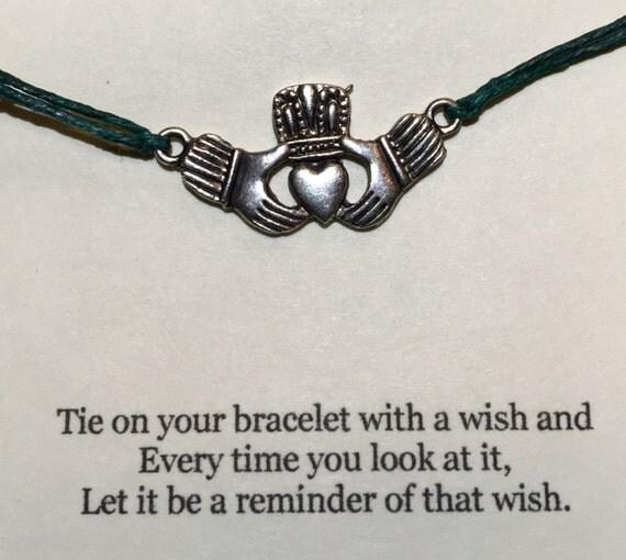 Claddagh Wish Bracelet