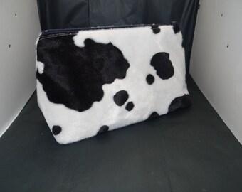 Cow print Travel bag