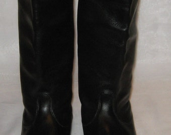 German  Army Officer chrome boots size 40 (EU 41)