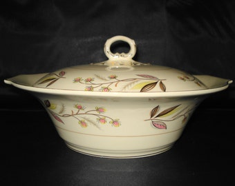REDUCED Myott Serving dish with lid. Charmaine pattern