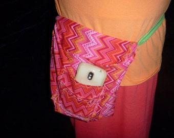 tie-on pocket